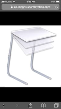 Tv table fold and store - 3 tables for $20