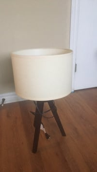 white and brown table lamp Bedford, B4A 1Y1