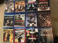 Action movie blu ray lot Tampa, 33635