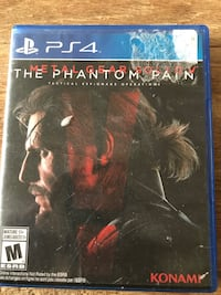 Metal Gear Solid V: The Phantom Pain (PS4) $10 Vancouver, 98662