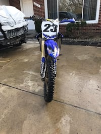 Blue and white motocross dirt bike stolen  if anyone sees that guy  Silver Spring, 20903