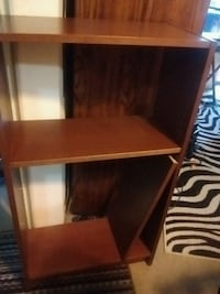 Real wood shelving unit Cherry stained Victoria, V8T