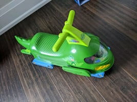 PJ masks gekko ride on