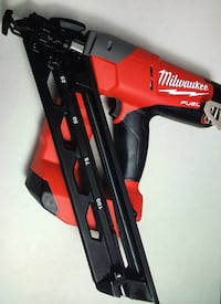 Milwaukee New Finish Nailer M18 -FUEL Brushless Cordless 15-Gauge Angled Tool Only New Brand Los Angeles, 91324