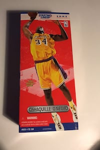 1997 Shaquille Starting Lineup Towson, 21286