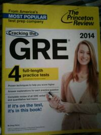 GRE 4 full-length Practice tests book Pullman, 99163