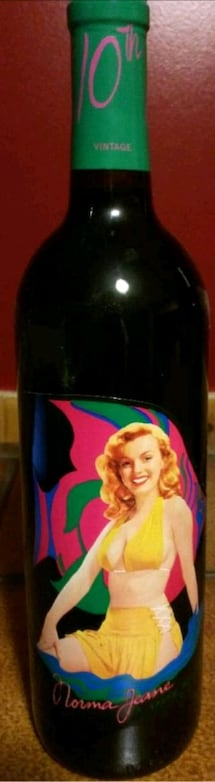Norma Jeane 2007 Merlot Wine -Marilyn Collectable.