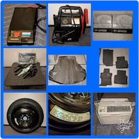 automotive wheel and white window type air conditi Purcellville