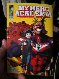 My hero academia manga with signature! Manteca, 95336