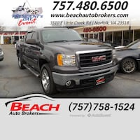 2011 GMC Sierra 1500 SLE Norfolk, 23518