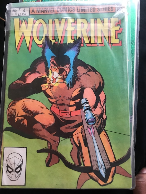 Wolverine limited series #1 - 4 1121c9ad-84dd-4cea-9408-63bc6d11481f
