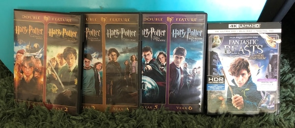 7 Movies - Harry Potter and Fantastic Beasts and Where to Find Them - $25  or Best Offer