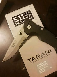5.11 Tactical Investigator Pocket knife (new) Coquitlam, V3B 7S3