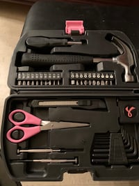 General household 35 tool set with case