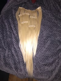 100% human hair clip in REMY  Los Angeles, 90046