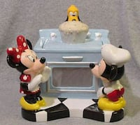 New Disney Micky and Minnie Oven Big Cookie Jar  Hyattsville, 20783