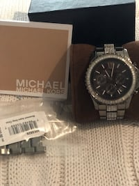 Mk watch chrome