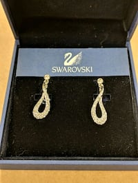 Swarovski Crystal Clip-on Earrings