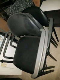 black and gray rolling chair Vaughan, L4H 2L7