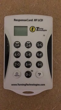 Turning technologies Response Card Temple Terrace, 33617