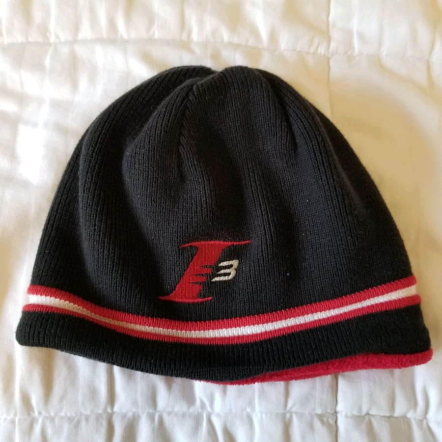 Reversible Basketball Iverson touque hoodie beanie