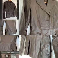 100% LEATHER fitted jacket Brampton, L6R 0E2