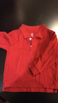 Long sleeve polo shirt size 18-24 months Gaithersburg, 20879