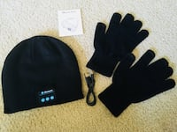 Bluetooth music beanie with gloves Ontario, 91761