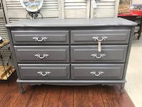 Painted French Provincial 6 Drawer Dresser 833 mi