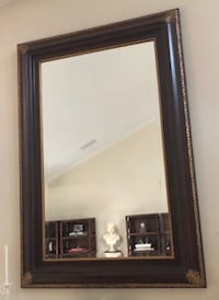 """Wall Mirror...measures Height 60"""" x Width 42"""""""