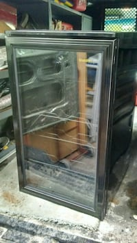 black and gray commercial refrigerator Boston, 02131