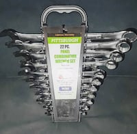 Pittsburgh 22 Piece Combo Wrench Set - BRAND NEW Silver Spring, 20906