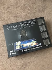 3D Game of Thrones Puzzle