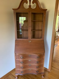 Vintage Secretary Desk with Hutch