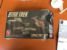Star Trek Spaceship Set Model Kit