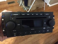 Jeep and dodge cd player with aux input Statesville, 28677