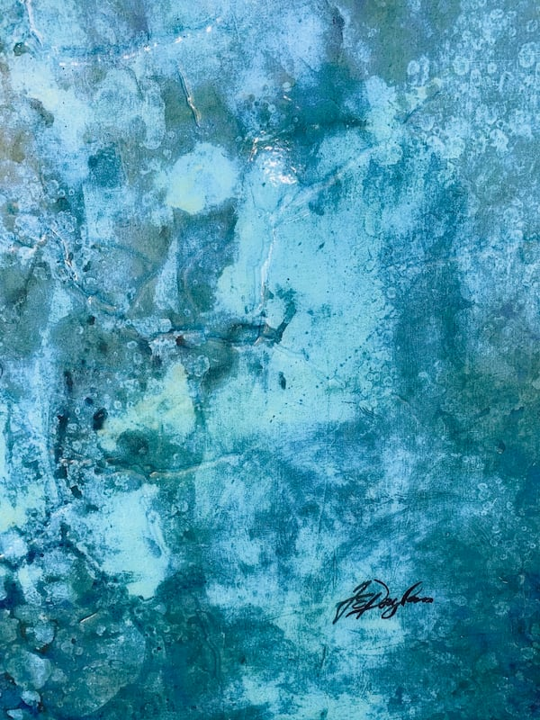 Beautiful Glossy Abstract Painting 71e81a25-c72b-47db-882d-6712a95401c5