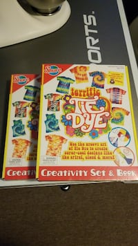 Brand New Sealed Tie Dye Kits