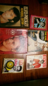 Elvis limited edition magazines from death year  Newburgh, 47630