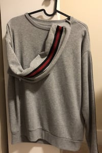 Grey long sleeve sweatshirt (small)