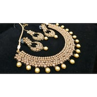 gold and diamond studded necklace Brampton, L6Y 3P8