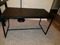 rectangular black wooden side table San Antonio, 78216