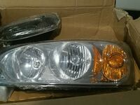 Headlights for Malibu 2004 through 2008