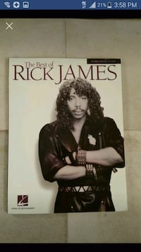 Rick James Music Book