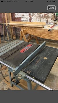 "Delta belt driven 10"" table saw works good !! Baton Rouge, 70815"