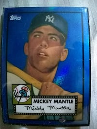 Mickey Mantle Reprint Tops Card Chicago, 60629