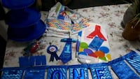 first birthday stuff for boy many things  Mississauga, L5V 2T3