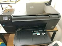black HP multi-function wireless color printer Canal Winchester, 43110