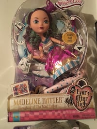 17 inches Ever after high doll  High Point, 27260