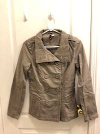 H&M Women's Trench Coat, Tan, Size 4, $30